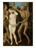 An Allegory of Death and Beauty Giclee Print by Hans Baldung Grien