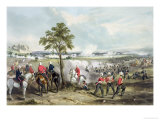 The Battle of Goojerat on 21st February 1849 Giclee Print by Henry Martens