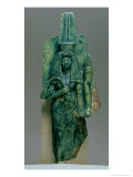 Statuette of Queen Tiy, Wife of Amenophis III, New Kingdom, circa 1391-1353 BC Giclee Print by 18th Dynasty Egyptian