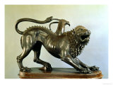 The Wounded Chimera of Bellerophon Premium Giclee Print by  Etruscan