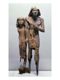 Anonymous Couple Known as the Memphis Couple Giclee Print by Old Kingdom Egyptian
