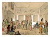Harem Feast, Tehran Giclee Print by Amadeo Preziosi