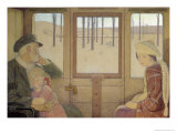 The Long Journey, 1923 Giclee Print by Frederick Cayley Robinson