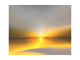 Golden Lake Giclee Print by Kenny Primmer