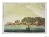Early Settlement of Vancouver Giclee Print by Paolo Fumagalli