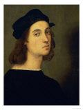 Self Portrait, circa 1506 Giclee Print by Raphael 