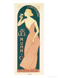 Poster Design for Champagne by Jules Mumm &amp; Co., Reims, 1895 Giclee Print by Maurice Realier-Dumas