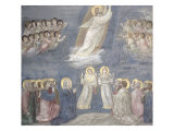 The Ascension, circa 1305 Giclee Print by  Giotto di Bondone