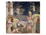 The Entry into Jerusalem, circa 1305 Giclee Print by  Giotto di Bondone
