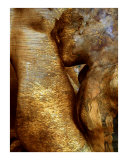 Homage to Rodin&#39;s Eternelle Idole - Variation Wheat Giclee Print by Ina Mar