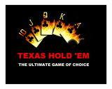 Texas Hold 'Em 1 Giclee Print by Teo Alfonso