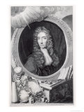 Portrait of the Honorable Robert Boyle Reproduction proc&#233;d&#233; gicl&#233;e par Johannes Kerseboom