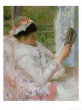 The Reader circa 1878 Giclee Print by Mary Cassatt