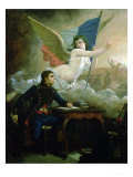 "Claude Joseph Rouget De Lisle Composing the ""Marseillaise"" Giclee Print by Bartolomeo Pinelli"