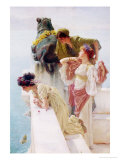 A Coign of Vantage, 1895 Giclée-tryk af Sir Lawrence Alma-Tadema