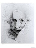 Self Portrait Giclee Print by Henry Fuseli