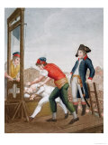 The Death of Robespierre 28th July 1794 Giclee Print by J. Beys