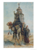 The Desert Ride, 1839 Giclee Print by Alexandre Gabriel Decamps
