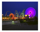 The Lights of Wildwood, New Jersey Photographic Print by George Oze