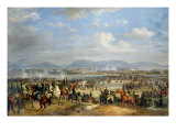 Prince Eugene De Beauharnais at Ostrovno, 25 July, 1812 Giclee Print by Albrecht Adam