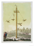 The Flying Game, from &quot;Le Costume Ancien Et Moderne&quot; Giclee Print by Paolo Fumagalli