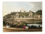 "The Work House, from ""Fragments on the Theory and Practice of Landscape Gardening,"" Published 1816 Giclee Print by Humphry Repton"