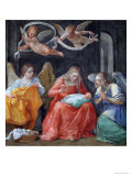 "The Virgin Sewing, from the ""Cappella Dell'Annunciata"" 1610 Giclee Print by Guido Reni"