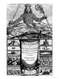 """Leviathan or the Matter, Forme and Power of a Common Wealth Ecclesiasticall and Civil"" Giclee Print"