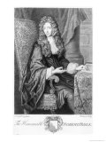 The Honorable Robert Boyle Reproduction proc&#233;d&#233; gicl&#233;e par Johannes Kerseboom