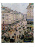 Rue De L'Epicerie, Rouen, on a Sunny Afternoon, 1893 Giclee Print by Camille Pissarro