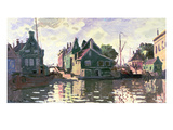 Zaandam (Oil on Canvas) Giclee Print by Claude Monet