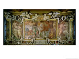 The Triumphal Elephant, an Allegorical Tribute to Francis I Giclee Print by Rosso Fiorentino (Battista di Jacopo)