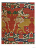 Taming of the Wild Animal, Byzantine Tapestry Fragment, 6th-7th Century Giclee Print