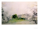 Razumovsky Palace Giclee Print by Rudolph von Alt