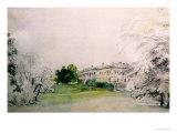 Razumovsky Palace Giclee Print by Rudolph von Alt