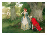 The Proposal Giclee Print by Sir James Dromgole Linton