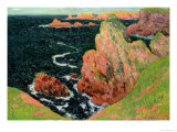 Belle Ile Giclee Print by Henry Moret