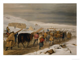 "Huts and Warm Clothing for the Army, Plate from ""The Seat of War in the East"" Giclee Print by William Simpson"