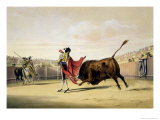La Suerte De La Capa, 1865 Giclee Print by William Henry Lake Price