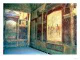 Frescos in the Tablinium, House of Livia, 1st Century AD Giclee Print
