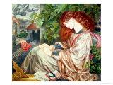 La Pia De Tolomei, 1868-80 Giclee Print by Dante Gabriel Rossetti