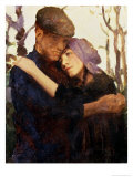 "Sketch for ""Betrothed"" Giclee Print by Thomas Cooper Gotch"