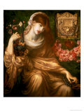 The Roman Widow, 1874 Premium Giclee Print by Dante Gabriel Rossetti