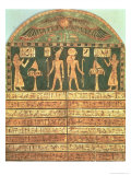 Stele of Horsiese, Late Period Giclee Print by 26th Dynasty Egyptian