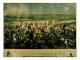 Custer's Last Fight, 25 June 1876 Reproduction procédé giclée