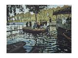 La Grenouillere, 1869 Giclee Print by Claude Monet