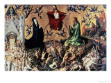 The Last Judgement Premium Giclee Print by Stephan Lochner