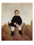 Boy on the Rocks, 1895 Giclee Print by Henri Rousseau