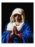 The Virgin in Prayer, 1640-50 Giclée-tryk af Giovanni Battista Salvi da Sassoferrato