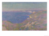 The Cliffs Near Dieppe, 1897 Giclee Print by Claude Monet